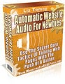 Thumbnail Automatic Website Audio for Newbies with Master Resell Rights