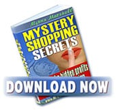 Mystery Shopping Secrets - Get Paid to Shop!