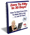 Zero To Fifty w/ Master Resell Rights