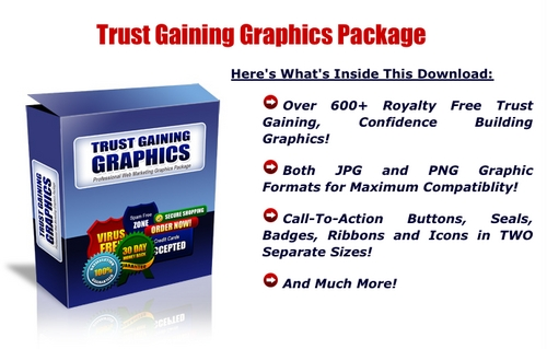Product picture Trust Gaining Graphics Package