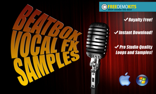Product picture Beatbox Vocal FX Effects by FreeDemoKits.com
