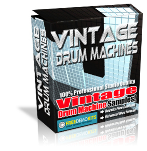 Product picture Vintage 80s Drum Machines Linn Rhythm Ace Hip Hop Samples