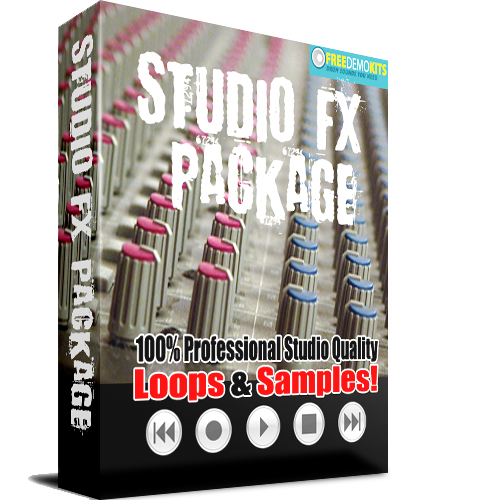 Product picture Studio Effects Package Sound FX SFX Wavs Samples and Loops